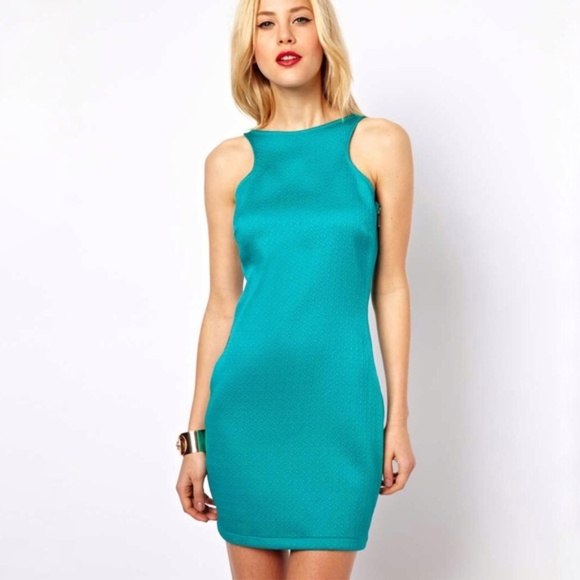 Mango Dresses & Skirts - 3/$20 Mango Textured Bodycon Dress with Side Zip